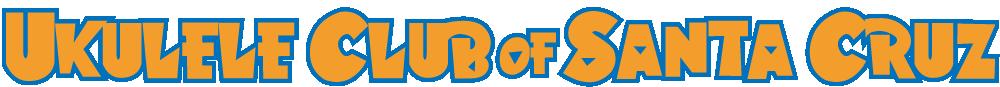 Ukulele Club of Santa Cruz logo
